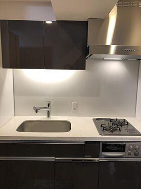中古マンション-新宿区下落合3丁目 システムキッチン・食洗器付・2ガスコンロ