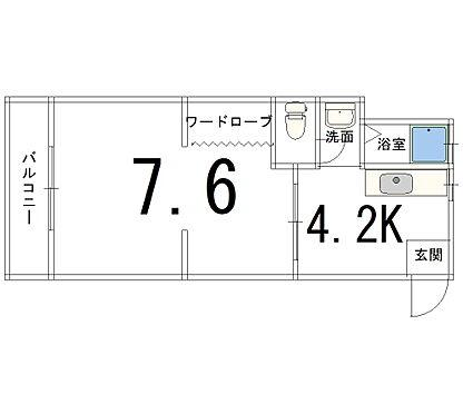 マンション(建物一部)-京都市山科区大宅坂ノ辻町 シンプルな単身者向け物件