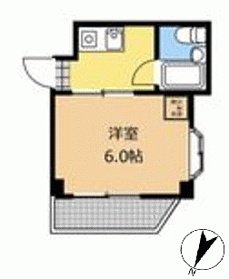 マンション(建物一部)-相模原市中央区横山3丁目 間取り