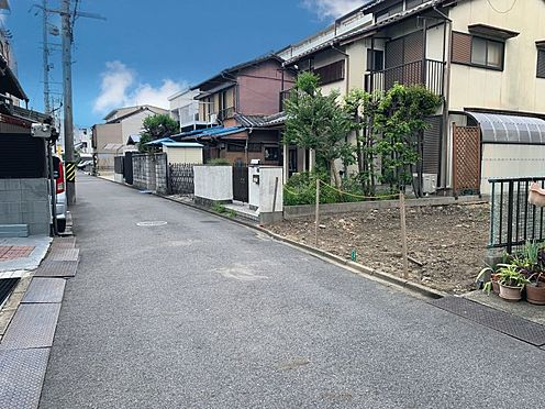 戸建賃貸-名古屋市西区笠取町1丁目 南側公道幅員約4.0m