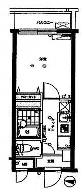 中古マンション-板橋区上板橋2丁目 間取り