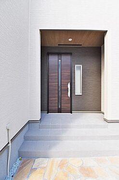 新築一戸建て-仙台市若林区南染師町 玄関