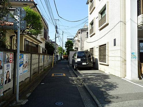マンション(建物全部)-新宿区高田馬場3丁目 前面道路