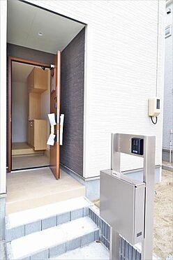 新築一戸建て-仙台市若林区沖野6丁目 玄関