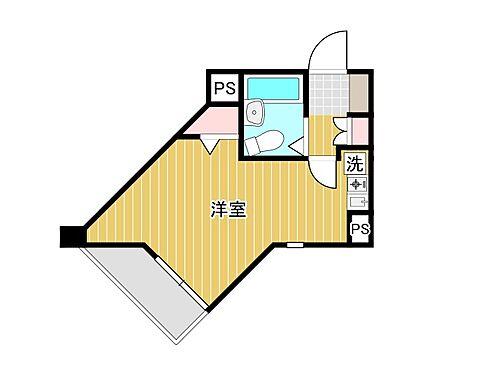 マンション(建物一部)-横浜市中区長者町1丁目 フローリングの洋室