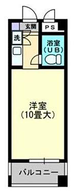 マンション(建物一部)-福岡市中央区春吉2丁目 間取り