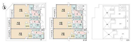 アパート-江戸川区松島4丁目 間取り