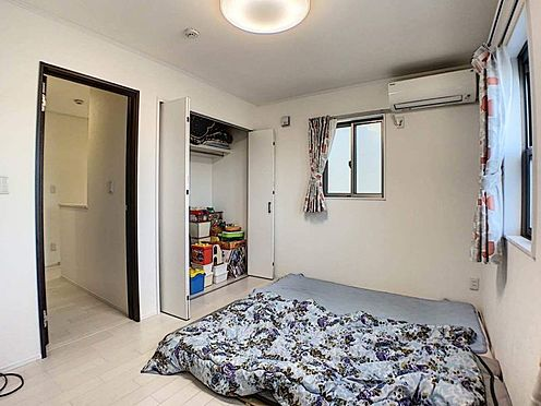 中古一戸建て-一宮市伝法寺1丁目 各居室にCLがある為、ご家族がそれぞれ荷物を収納できます