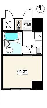 区分マンション-大阪市浪速区元町2丁目 間取り