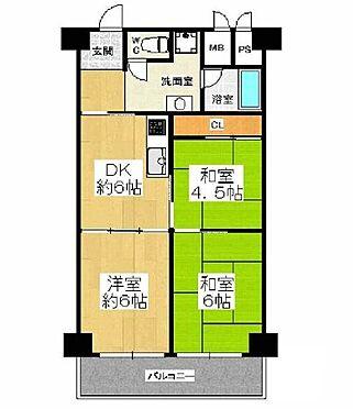 マンション(建物一部)-大阪市都島区東野田町4丁目 使い勝手の良い3DK