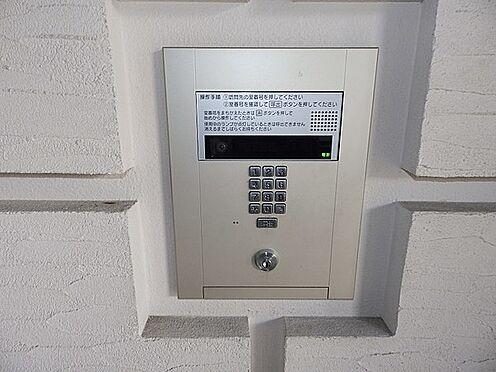 マンション(建物一部)-京都市南区西九条東島町 防犯面も安心のオートロック。