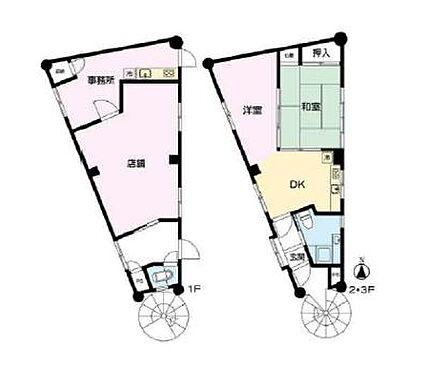 ビル(建物全部)-横浜市港南区上大岡西3丁目 間取り