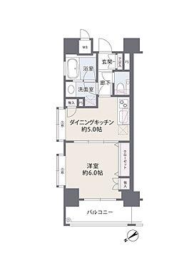 中古マンション-横浜市港北区新横浜1丁目 間取り図