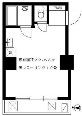 マンション(建物全部)-新宿区高田馬場1丁目 間取り