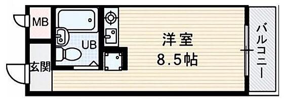 区分マンション-大阪市東淀川区淡路3丁目 図面より現況を優先します。