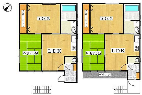アパート-名古屋市港区十一屋3丁目 間取図 ※図面と現況が異なる場合は現況優先と致します。
