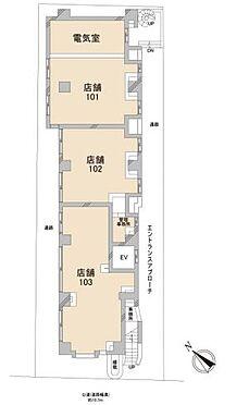 店舗事務所(建物一部)-横須賀市米が浜通1丁目 間取り