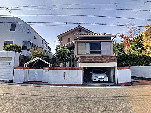 土地-名古屋市名東区貴船2丁目 1階部分(19.04平方メートル、約5.7坪)は車庫になります。