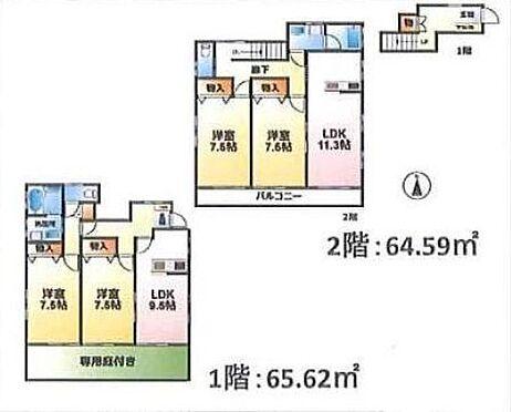 アパート-千葉市緑区土気町 間取り