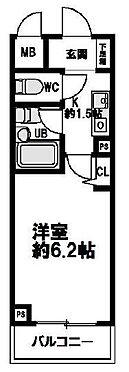マンション(建物一部)-大阪市北区同心2丁目 間取り