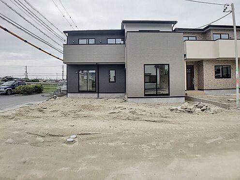 戸建賃貸-岡崎市渡町字能光前 外観(2021年5月)撮影