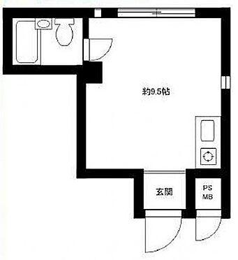 マンション(建物一部)-大田区東雪谷2丁目 間取り