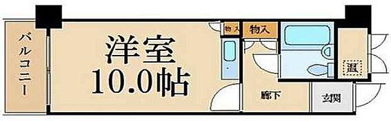 マンション(建物一部)-大阪市中央区淡路町2丁目 単身者向けのプラン