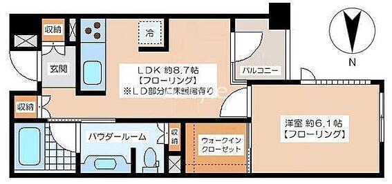 マンション(建物一部)-世田谷区宮坂3丁目 間取り