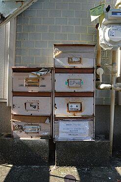 アパート-横浜市神奈川区白幡仲町 ダイヤル式集合ポストの変更も承ります。