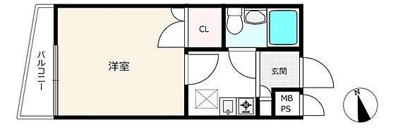 マンション(建物一部)-練馬区上石神井1丁目 間取り