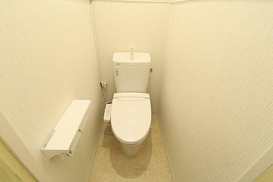 店舗付住宅(建物全部)-鹿児島市大明丘3丁目 トイレ