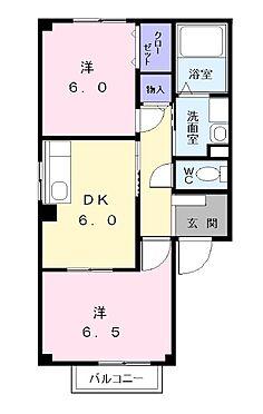 アパート-名古屋市中川区江松5丁目 間取り