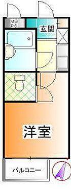 マンション(建物一部)-川崎市宮前区馬絹6丁目 間取り