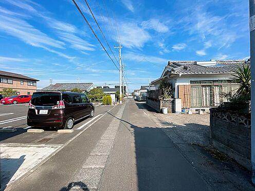 アパート-都城市都北町 前面道路