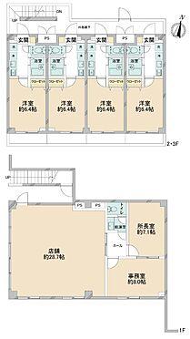 マンション(建物全部)-横浜市西区境之谷 間取り図