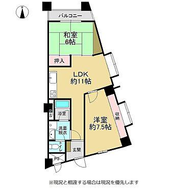 マンション(建物一部)-熊本市中央区菅原町 間取り