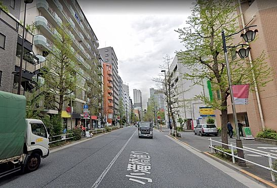 店舗・事務所・その他-新宿区百人町1丁目 前面道路