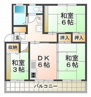 マンション(建物一部)-神戸市垂水区本多聞5丁目 間取り