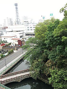 マンション(建物一部)-高崎市柳川町 ベランダより 春には桜がきれいです。