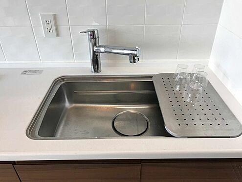 中古マンション-江戸川区北小岩6丁目 浄水一体型キッチン水栓