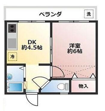 アパート-春日部市栄町1丁目 間取り