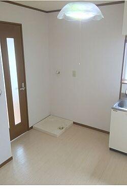 アパート-柏市根戸 室内洗濯置場