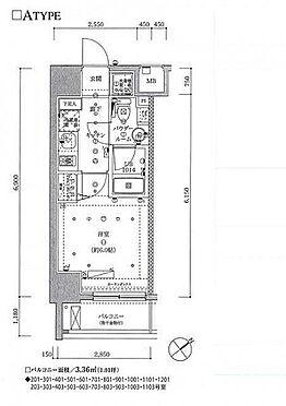 マンション(建物一部)-豊島区南池袋4丁目 間取り