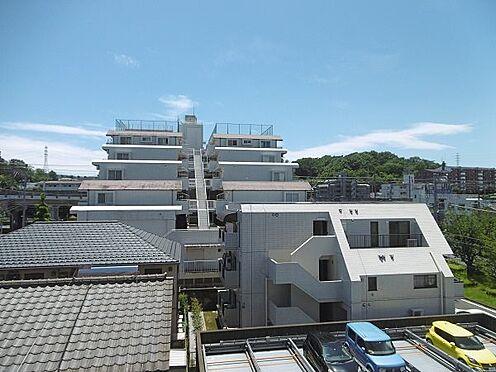 中古マンション-多摩市永山1丁目 南側の眺望です。