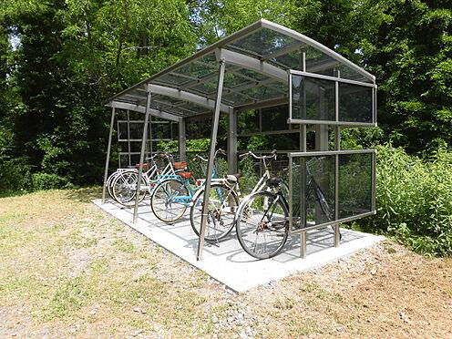 アパート-秋田市下新城中野字街道端西 自転車置き場