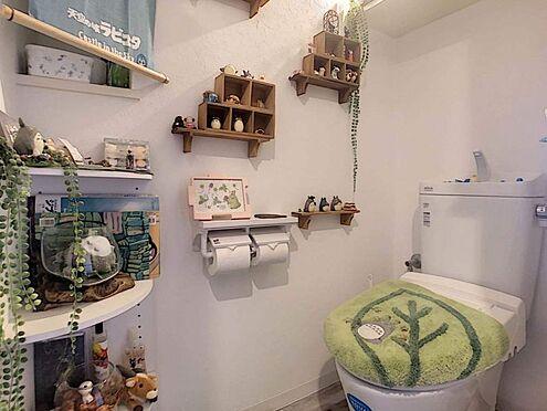 中古マンション-豊田市寿町7丁目 インテリアを置く棚がたくさん!子供の好きなものを置くのもいいですね。