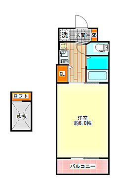 区分マンション-大阪市港区市岡元町1丁目 図面より現況を優先します。