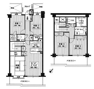 中古マンション-日野市三沢4丁目 間取り