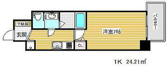 マンション(建物一部)-神戸市兵庫区湊町1丁目 間取り