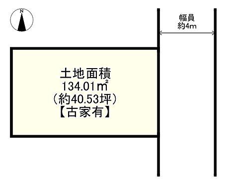 土地-吹田市泉町2丁目 区画図
